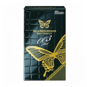Bao cao su siêu mỏng Jex Glamcurous Butterfly hot 003